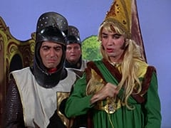 Harold (Murray Roman), Richard (John Lawrence), Princess Gwen (Mike Nesmith)