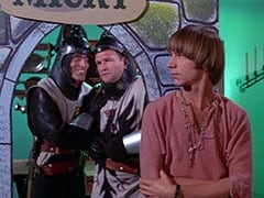 Harold (Murray Roman), Richard (John Lawrence), Peter Tork