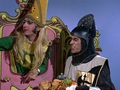 Princess Gwen (Mike Nesmith), Harold (Murray Roman)