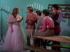 Fairy of the Locket (Diane Shalet), Peter Tork, Davy Jones, Micky Dolenz, Mike Nesmith