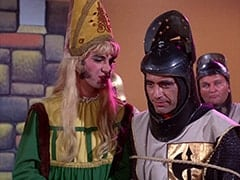 Princess Gwen (Mike Nesmith), Harold (Murray Roman), Richard (John Lawrence)