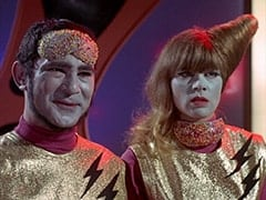 Captain (Stuart Margolin), Assistant (Nita Talbot)