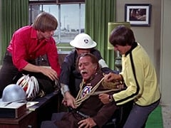 Peter Tork, Chief's Assistant (?), Chief (Clarke Gordon), Davy Jones