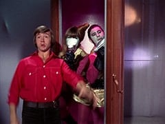 Peter Tork, Assistant (Nita Talbot), Captain (Stuart Margolin)