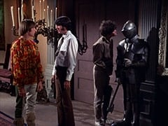 Peter Tork, Mike Nesmith, Micky Dolenz, Knight (?)