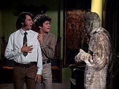 Mike Nesmith, Micky Dolenz, Mummy (?)