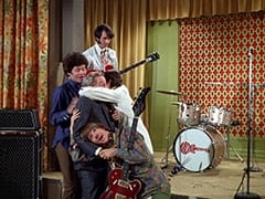 Micky Dolenz, Peter Tork, Manager (Henry Beckman), Mike Nesmith, Davy Jones