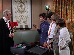 Mendrek (Hans Conried), Micky Dolenz, Mike Nesmith, Peter Tork, Davy Jones
