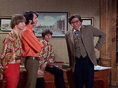 Peter Tork, Mike Nesmith, Davy Jones, Mental Problem Specialist (Severn Darden)
