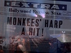Monkees' harp a hit