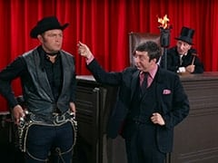 Billy the Kid (Peter Canon), Zero (Monte Landis), Judge Roy Bean (Billy Beck)