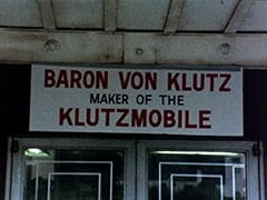 Baron Von Klutz / Maker of the Klutzmobile