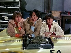 Peter Tork, Mike Nesmith, Davy Jones