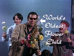 Mike Nesmith, Bob Rafelson, Wolfgang (Stubby Kaye) - World's Oldest Flower Child