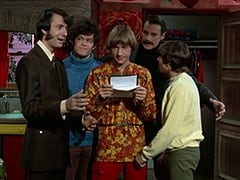 Mike Nesmith, Micky Dolenz, Peter Tork, Artie (?), Davy Jones