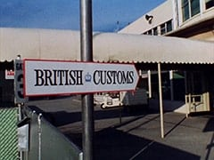Outside British Customs