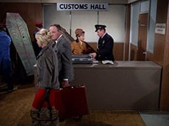 Customs Man (Jack H. Williams) - Customs hall
