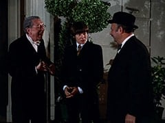 Butler (Reginald Gardiner), Davy Jones, Mr. Friar (Laurie Main)