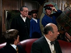 Davy Jones, Butler (Reginald Gardiner), David Price, Ric Klein, Luggage Carrier (David Pearl), Mr. Friar (Laurie Main)