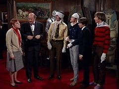 Mary Friar (Myra De Groot), Mr. Friar (Laurie Main), Mike Nesmith, Micky Dolenz, Davy Jones, Peter Tork