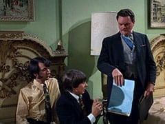 Mike Nesmith, Davy Jones, Sir Twiggly Toppin Middle Bottom (Bernard Fox)