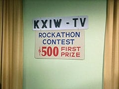 KXIW-TV studios registration room