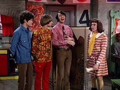 Micky Dolenz, Peter Tork, Mike Nesmith, Miss Jones (Davy Jones)