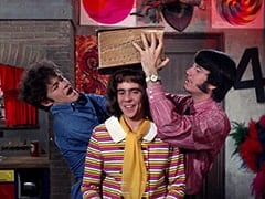 Micky Dolenz, Miss Jones (Davy Jones), Mike Nesmith
