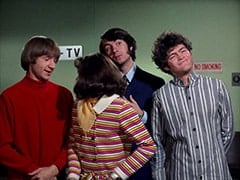 Peter Tork, Miss Jones (Davy Jones), Mike Nesmith, Micky Dolenz