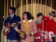 Mike Nesmith, Miss Jones (Davy Jones), Micky Dolenz, Peter Tork