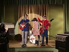 Mike Nesmith, Miss Jones (Davy Jones), Peter Tork