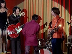 Daphne (Deana Martin), Mike Nesmith, Davy Jones, Peter Tork