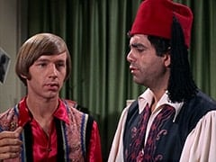 Peter Tork, Rudy Bayshore (James Frawley)