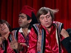 Davy Jones, Rudy Bayshore (James Frawley), Peter Tork