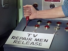 TV repair men release