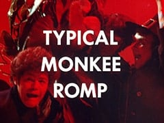 Micky Dolenz, Mike Nesmith, Glick (Rip Taylor) - Typical Monkee romp