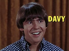 "Davy Jones - ""Everywhere a Sheik, Sheik"""